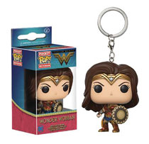 Image: Pocket POP! Vinyl Figure Keychain: Wonder Woman  - Funko