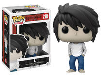 Image: POP! Death Note Vinyl Figure: L  - Funko