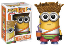 Image: POP! Despicable Me 3 Vinyl Figure: Tourist Dave  - Funko