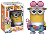Image: POP! Despicable Me 3 Vinyl Figure: Tourist Jerry  - Funko
