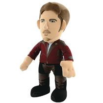 Image: Guardians of the Galaxy V2 Plush: Star-Lord Unmasked  (10-inch) - Bleacher Creatures