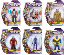 Image: Marvel Guardians of the Galaxy 6-inch Action Figure Assortment 201702  - Hasbro Toy Group