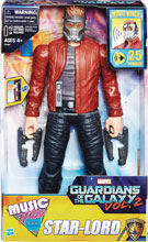 Image: Marvel Guardians of the Galaxy Electronic Music Mix Star Lord Action Figure Case  (12-inch) - Hasbro Toy Group