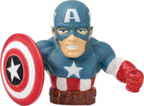Image: Marvel Finger Fighter: Captain America  - Monogram Products