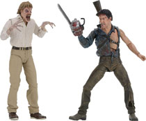 Image: Evil Dead 2 Action Figure: 30th Anniversary Hero Ash & Evil Edition 2-Pack  - Neca