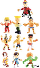 Image: TLS x Street Fighter Mini-Figure 16-Piece Blind Mystery Box Display Wv1  - The Loyal Subjects