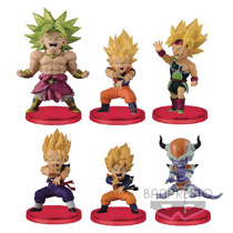 Image: Dragonball Z WCF Battle of Saiyans Vol4 Figure Inner Case  - Banpresto