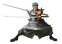Image: One Piece Scultures Figure: Big Zoukeio Shining Zoro  - Banpresto