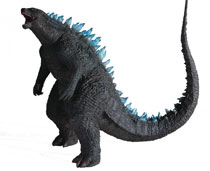 Image: Godzilla 12-inch Series Figure: Godzilla  (2014 Blue Dorsal version) - X Plus Usa Inc
