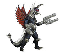 Image: Godzilla 12-inch Series Figure: Final Wars Mecha Gigan  (2004 version) - X Plus Usa Inc
