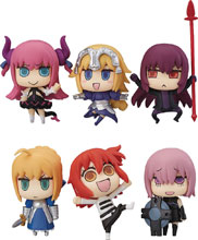 Image: Fate/Grand Order Learning with Manga 6-Piece Blind Mystery Box Trading Figures  - Kadokawa Ascii