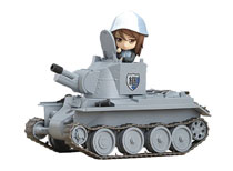 Image: Girls Und Panzer Nendoroid: More Bt-42 Tank  - Good Smile Company