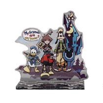 Image: Kingdom Hearts HD 2.8 Stand: Coming Acrylic  - Square Enix Inc