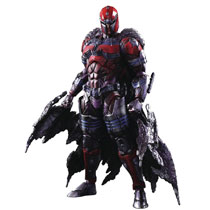 Image: Marvel Universe Variant Play Arts Kai Action Figure: Magneto  - Square Enix Inc