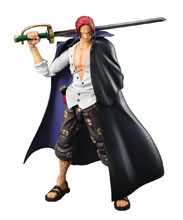 Image: One Piece Variable Action Hero PVC Figure: Shanks  - Megahouse Corporation