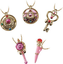 Image: Sailor Moon Little Charms 10-Piece Display  - Bluefin
