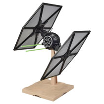 Image: Star Wars Ep7 Model Kit: First Order Tie Fighter  (1/72-scale) - Bandai Hobby