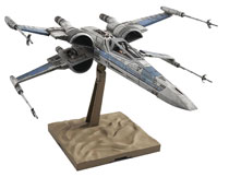 Image: Star Wars Ep7 Model Kit: Resistance X-Wing Star Fighter  (1/72-scale) - Bandai Hobby