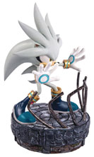 Image: Sonic the Hedgehog Statue: Silver the Hedgehog  - First 4 Figures