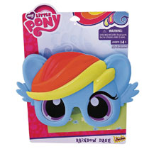 Image: My Little Pony Sunstaches Sunglasses: Rainbow Dash  - H2W