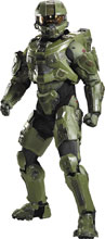 Image: Halo Master Chief Light-Up Ultra Prestige Adult  (M) - Disguise Inc