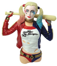 Image: Suicide Squad Bust Bank: Harley Quinn  - Monogram Products