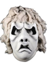 Image: The Twilight Zone Mask: Nightmare at 20,000 Ft Gremlin  (B&W) - Trick Or Treat Studios, LLC