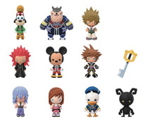 Image: Kingdom Hearts Laser Series 2 Cut Figure Keyring 24-Piece Blind Mystery Box Display  - Monogram Products