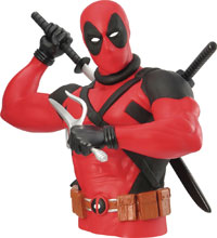 Image: Deadpool Bust Bank  - Monogram Products