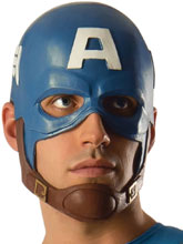 Image: Marvel Captain America Deluxe Adult Helmet  - Rubies Costumes Company Inc