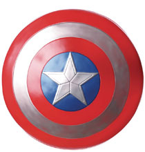 Image: Marvel Captain America Deluxe 24-inch Adult Shield  - Rubies Costumes Company Inc