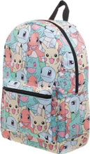 Image: Pokemon Backpack: Gotta Catch Them  (All Over Print) - Bioworld Merchandising