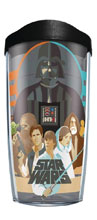 Image: Tervis Star Wars Classic Group Tumbler  (w/Lid) (16-ounce) - Tervis Tumbler Co.