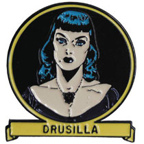 Image: Tales from the Crypt Lapel Pin: Drusilla  - Ripper Merchandise, LLC