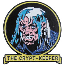 Image: Tales from the Crypt Lapel Pin: The Crypt Keeper  - Ripper Merchandise, LLC