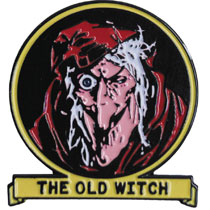 Image: Tales from the Crypt Lapel Pin: The Old Witch  - Ripper Merchandise, LLC
