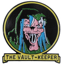 Image: Tales from the Crypt Lapel Pin: The Vault Keeper  - Ripper Merchandise, LLC