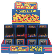 Image: Ms. Pac-Man Arcade Ghosts Candy Tin 12-Piece Display  - Boston America Corp.