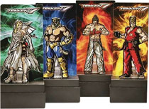 Image: Figpin Tekken 7 Enamel Figure Pin 6-Piece Assortment Wave 1  - Cmd Collectibles