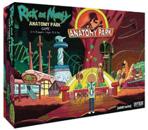 Image: Rick and Morty: Anatomy Park Board Game  - Cryptozoic Entertainment