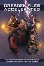 Image: Dresden Files: Accelerated RPG HC  - Evil Hat Productions