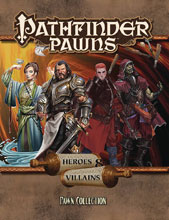 Image: Pathfinder Pawns: Heroes and Villains Pawn Collection  - Paizo, Inc