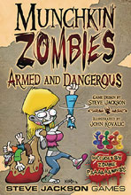 Image: Munchkin Zombies: Armed and Dangerous Expansion  - Steve Jackson Games