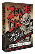 Image: Zombie Dice: Horde Edition  - Steve Jackson Games