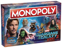 Image: Guardians of the Galaxy Vol. 2 Monopoly  - Usaopoly