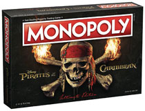 Image: Pirates of the Caribbean Monopoly  [2017] - Usaopoly