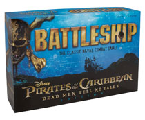Image: Pirates of the Caribbean Battleship  - Usaopoly