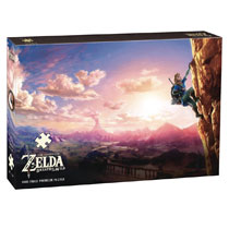 Image: Legend of Zelda Puzzle: Breath of the Wild - Scaling Hyrule  - Usaopoly