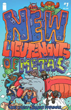 Image: New Lieutenants of Metal #1 - Image Comics