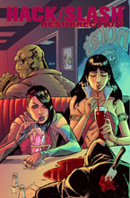 Image: Hack Slash Resurrection #9 (cover A - Seeley) - Image Comics